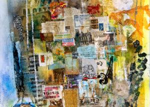 Apres la tempête - Dernière oeuvre de Guy Nouchy, artiste peintre